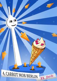 Eis Carrotmob 11. Juli