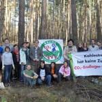 Gruppenfoto Pflanzaktion Wannsee