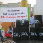 Demonstration von CCS-Gegnern