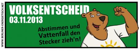 Volksentscheid Berliner Energietisch